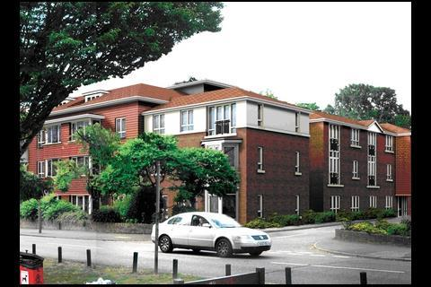 Extra care homes in Barnet, north London, designed by PRP Architects and built by Jacksons for Sanctuary Housing Association